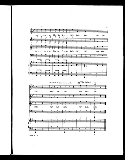 Medley quartette, no. 2 [mixed voices]