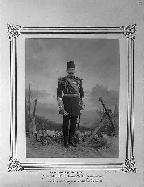 [Mehmed Paşa, Commander of the Imperial Fire Brigade and Navy Fusiliers] / Constantinople, Abdullah Frères.