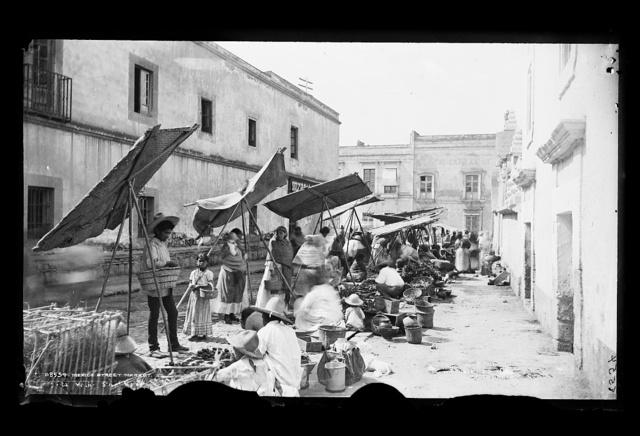 Mexico street market