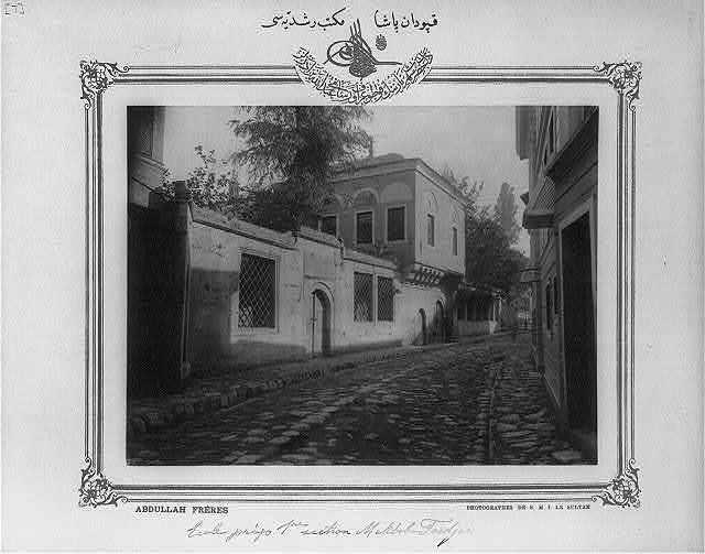 [Middle school Kaptanpaşa Mekteb-i Ruşdiyesi] / Abdullah Frères, photographes de S.M.I. le Sultan.
