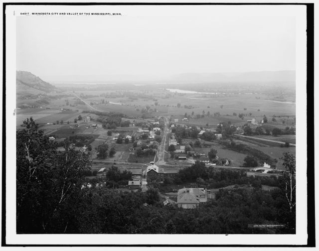 Minnesota City and Valley of the Mississippi, Minn.