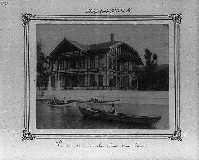 [Mirahor Palace at Kağıthane]