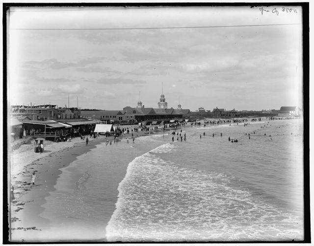 [Narragansett Beach, Narragansett Pier, R.I.]