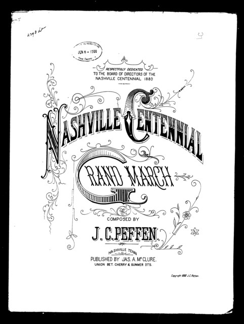 Nashville centennial grand march