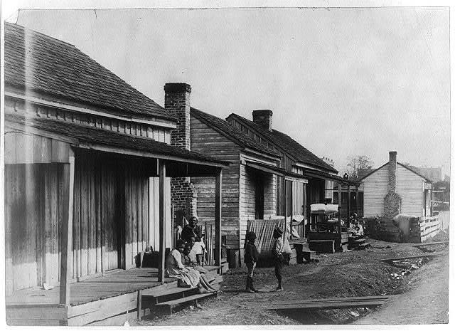 Negro homes at Thomasville, Ga.