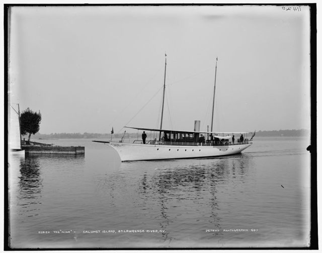 Nina, Calumet Island, St. Lawrence, River, N.Y., The