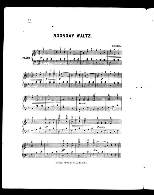 Noonday waltz