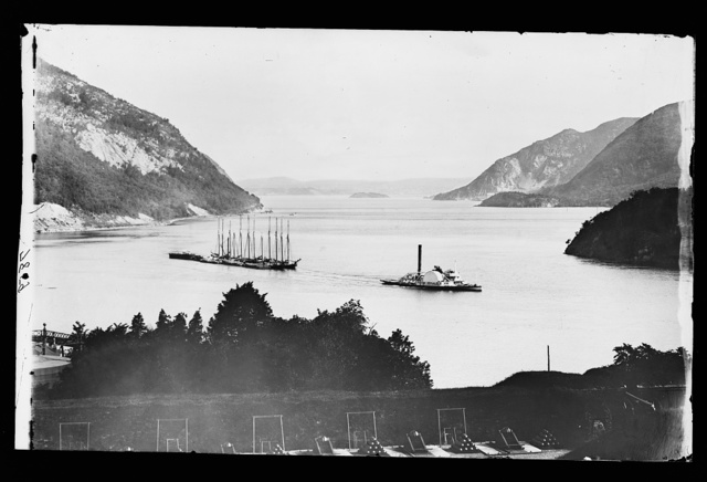 [North from the battery, West Point]