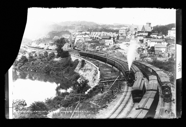 N.Y.C.R.R. [New York Central Railroad] at Little Falls, Mohawk Valley, N.Y.