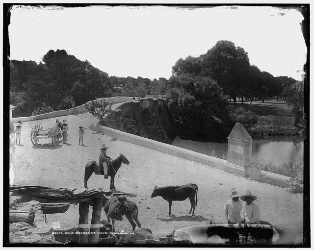 Old bridge at Tula
