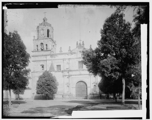 Old church at Coyoacan