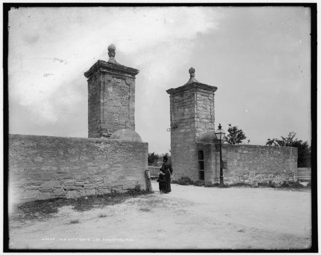 Old City Gate, St. Augustine, Fla.