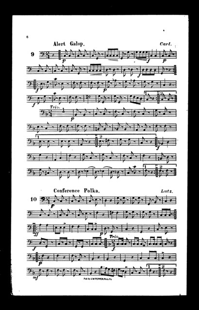 "Overture ""Pinafore"" [and other pieces]"