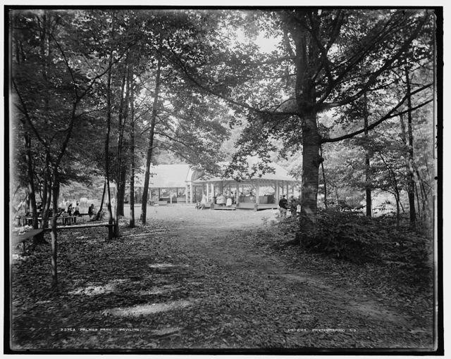 Palmer Park, pavilion