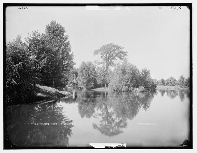 Palmer Park, the lake