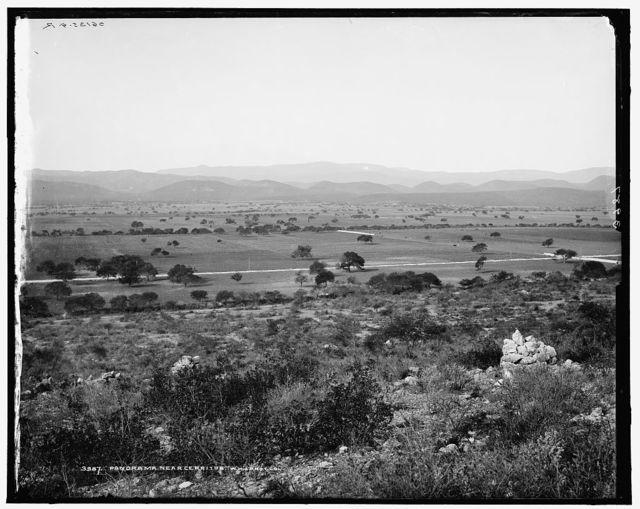 Panorama near Cerritos