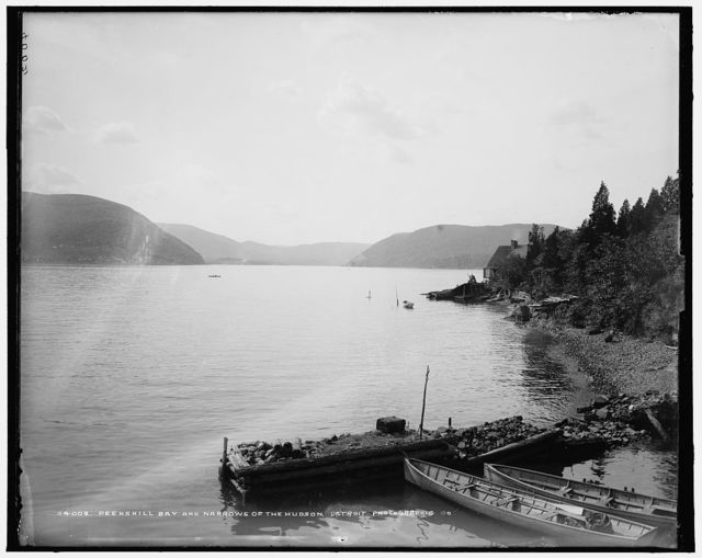 Peekskill Bay and narrows of the Hudson