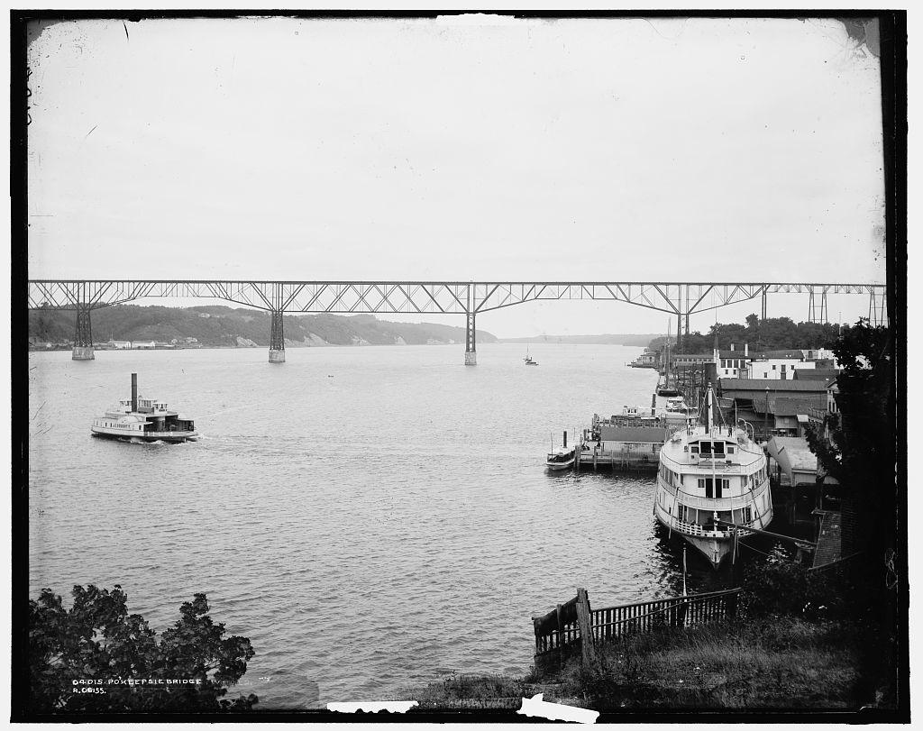 Pokeepsie [i.e. Poughkeepsie] Bridge