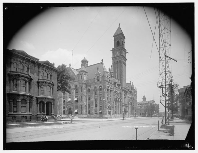 Post Office, Detroit