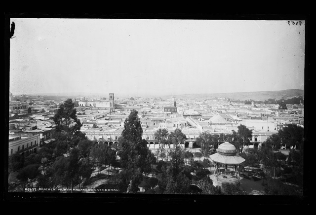 Puebla, north from the cathedral