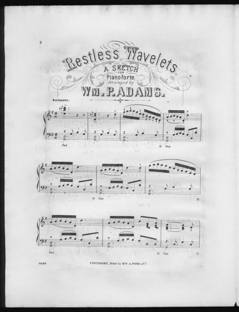 Restless wavelets