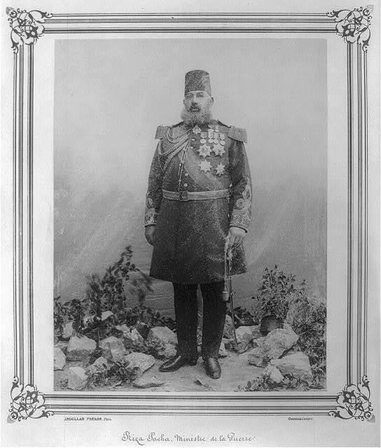 [Rıza Paşa, Minister of War] / Abdullah Frères, Phot., Constantinople.