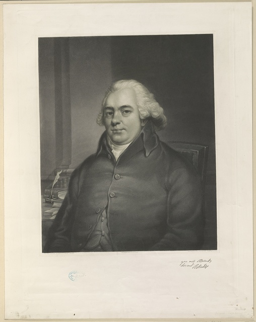 [Robert Raikes, half-length portrait, seated, facing front] / engraved by A. Gilchrist Campbell, N.Y.
