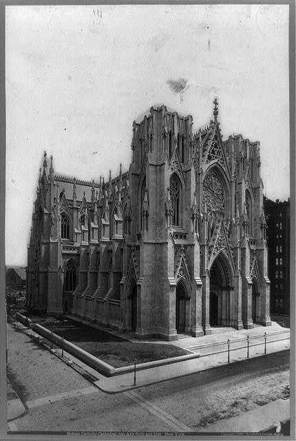 Roman Catholic Church, 5th Ave. 50th and 51st, New York City