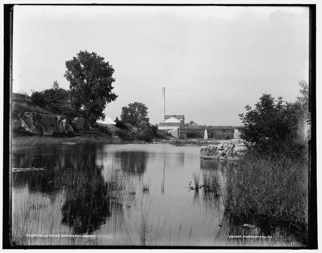 Root River rapids, Racine, Wis.