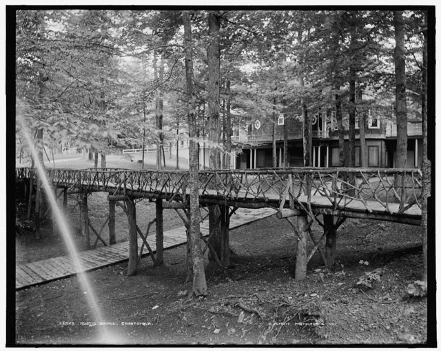 Rustic bridge, Chautauqua