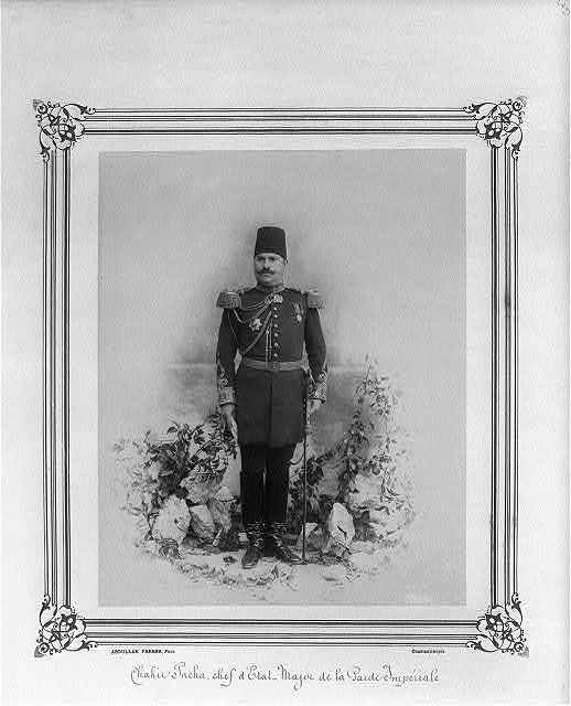 [Şakir Paşa, Chief of Staff of the Imperial Guard] / Abdullah Frères, Phot., Constantinople.