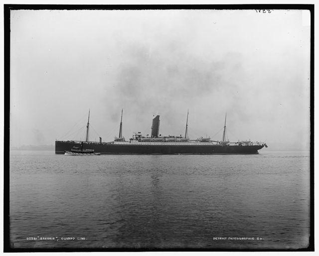 Saxonia, Cunard Line