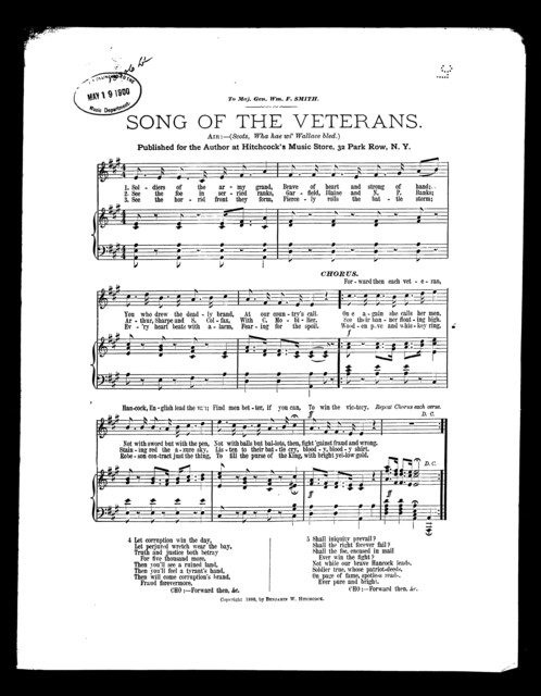 Song of the veterans