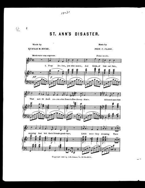St. Ann's disaster