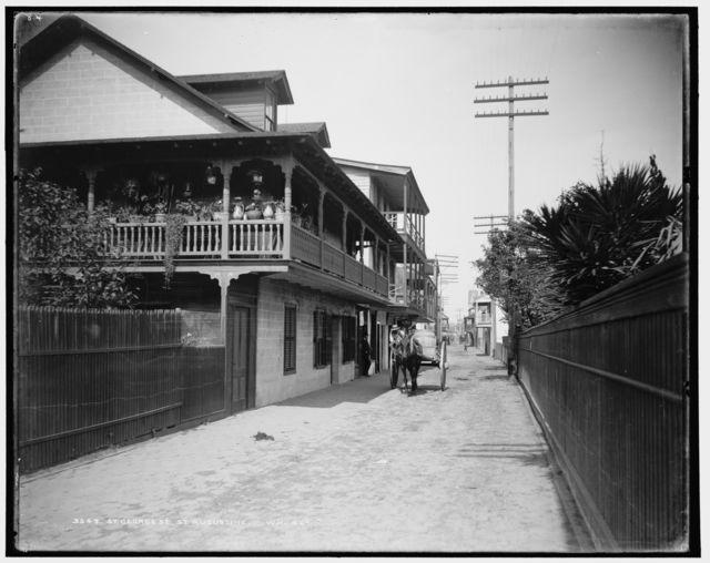 St. George St., St. Augustine