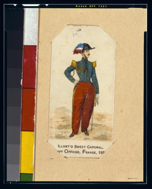 Staff officer, France, 1853
