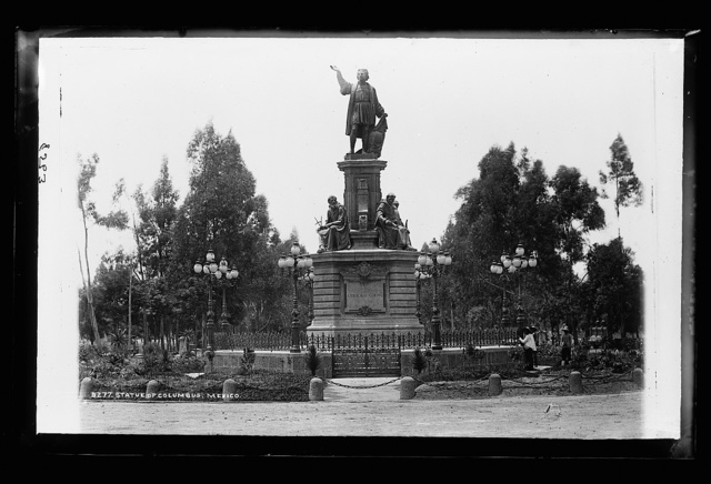 Statue of Columbus, Mexico