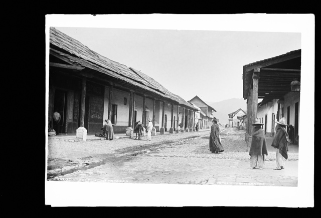 Street in Amecameca