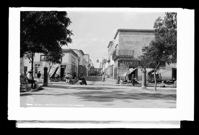 Street in San Luis Potosi