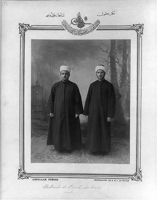[Students, Imperial Law School] / Abdullah Frères, photographes de S.M.I. le Sultan.
