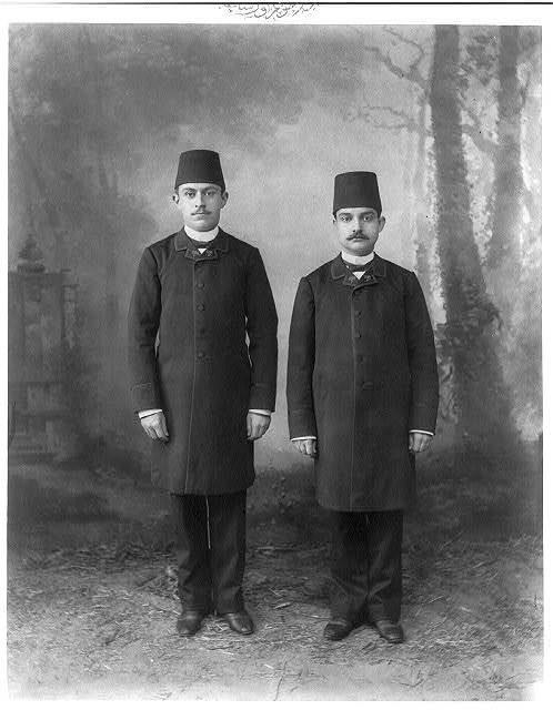 [Students, Mekteb-i Mülkiye-yi Şahane (Imperial School of Political Science)] / Abdullah Frères, photographes de S.M.I. le Sultan.