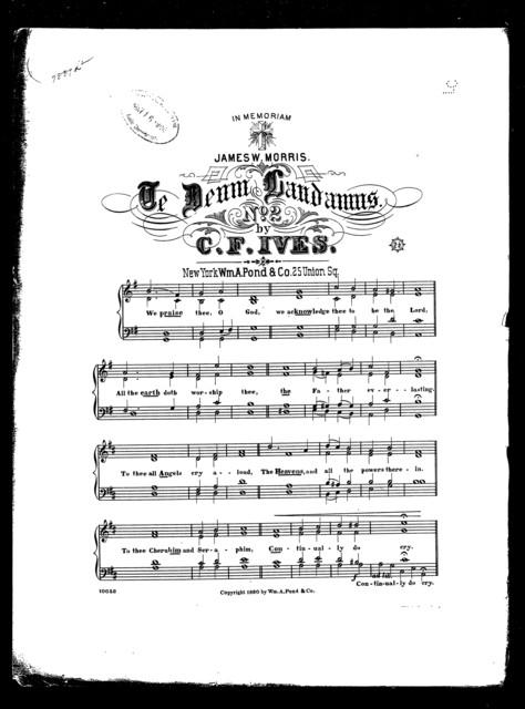 Te Deum laudamus, no. 2