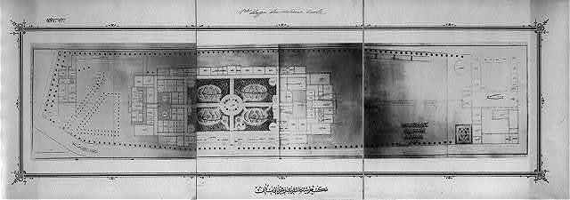 [The basement plan of the Imperial Military Academy]