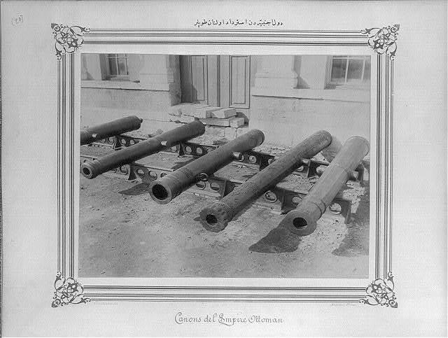[The cannons captured from the foreign countries] / Constantinople, Abdullah Frères.