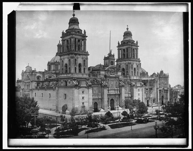 The Cathedral, City of Mexico, Mex.