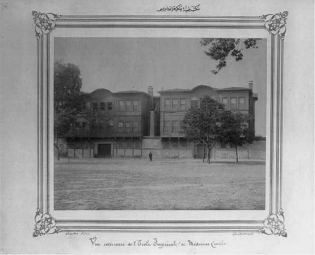 [The civil medical high school] / Abdullah Frères, Constantinople.