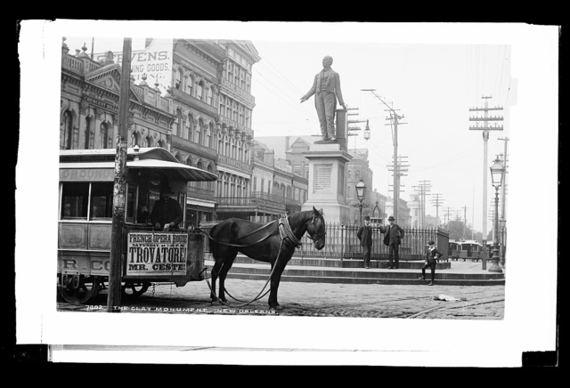 The Clay Monument, [Canal Street], New Orleans