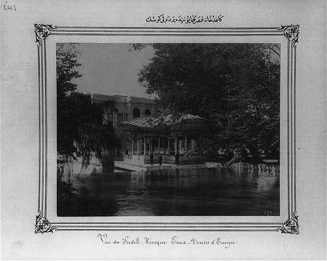 [The Curtained Pavilion at the Imperial Palace at Kağıthane]