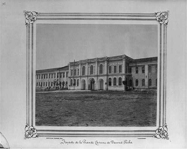 [The facade of the great Davudpaşa Barracks] / Abdullah Frères, Phot., Constantinople.