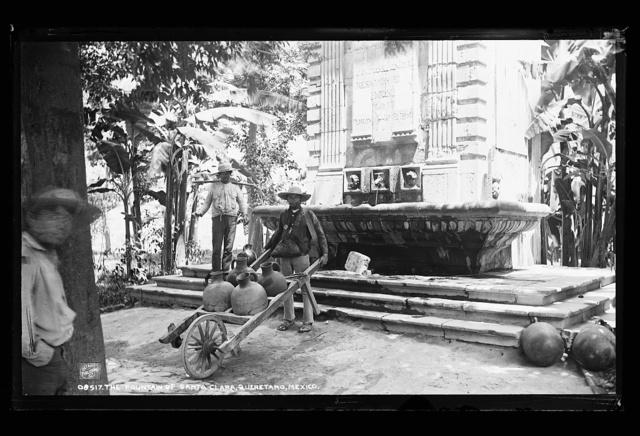 The fountain of Santa Clara, Queretaro, Mexico